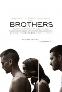 Natalie Portman entre Tobey Maguire y Jake Gyllenhall en Hermanos