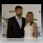 Jennifer Aniston y Gerard Butler en el photocall de 'The Bounty Hunter'.