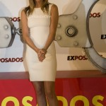 Jennifer Aniston en el photocall de 'Exposados' en Madrid.