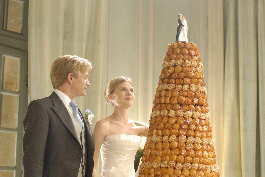 fotograma de el pastel de la boda