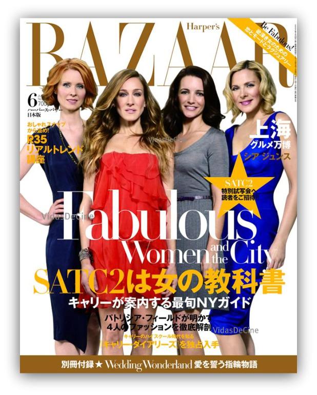 SATC2 en Harpers Bazaar Japón