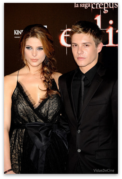 ashley greene xavier samuel premiere eclipse madrid spain