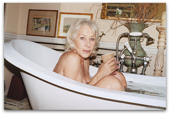 helen mirren topless