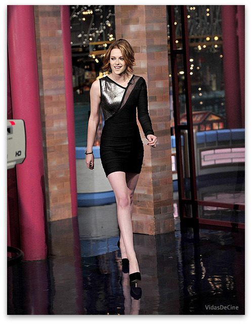 kristen stewart eclipse david letterman