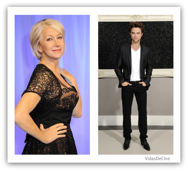 madame tussauds london helen mirren robert pattinson